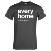 Charcoal T Shirt-Every Home
