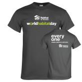 Charcoal T Shirt-World Habitat Day