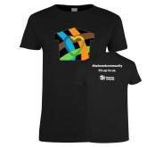 Ladies Black T Shirt-Beloved Community