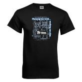 Black T Shirt-Planning My Work Working My Plan