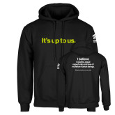 Black Fleece Hoodie-Its up to us