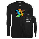 Under Armour Black Long Sleeve Tech Tee-Beloved Community