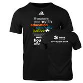 Adidas Black Logo T Shirt-Making Housing Affordable