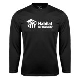 Syntrel Performance Black Longsleeve Shirt-