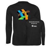Performance Black Longsleeve Shirt-Beloved Community
