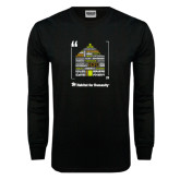 Black Long Sleeve TShirt-Love Opportunity Partnership