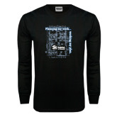 Black Long Sleeve TShirt-Planning My Work Working My Plan