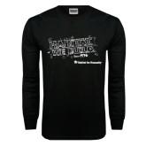 Black Long Sleeve TShirt-Habitat We Build