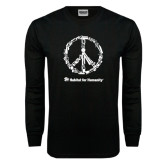 Black Long Sleeve TShirt-Peace Tools