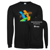 Black Long Sleeve T Shirt-Beloved Community