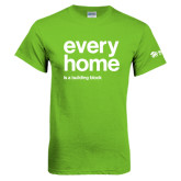 Lime Green T Shirt-Every Home
