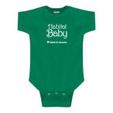 Kelly Green Infant Onesie-Habitat Baby