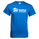 Royal Blue T Shirt-
