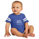 Vintage Royal Jersey Onesie-Habitat Baby