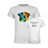 Youth White T Shirt-Beloved Community