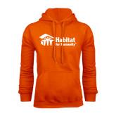 Orange Fleece Hoodie-