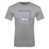 Grey T Shirt-Planning My Work Working My Plan