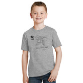 Youth Grey T-Shirt-Habitat Room Frame