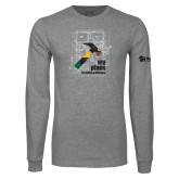 Grey Long Sleeve T Shirt-My Plans For Making A Difference