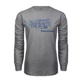 Grey Long Sleeve T Shirt-Habitat We Build