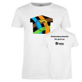 Ladies White T Shirt-Beloved Community