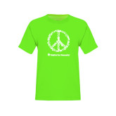Youth Neon Green T Shirt-Peace Tools
