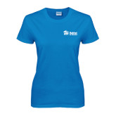 Ladies Sapphire T Shirt-