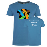 Ladies Sapphire T Shirt-Beloved Community