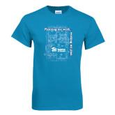 Sapphire T Shirt-Planning My Work Working My Plan
