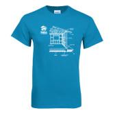 Sapphire T Shirt-Habitat Room Frame