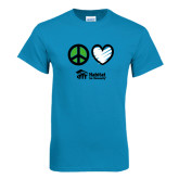 Sapphire T Shirt-Peace Love Habitat