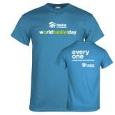 Sapphire T Shirt-World Habitat Day