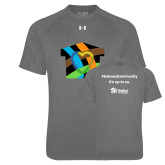 Under Armour Carbon Heather Tech Tee-Beloved Community
