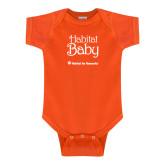 Orange Infant Onesie-Habitat Baby