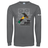 Charcoal Long Sleeve T Shirt-My Plans For Making A Difference
