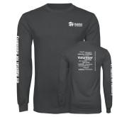 Charcoal Long Sleeve T Shirt-
