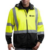 Safety Yellow ANSI 107 Class 3 Safety Windbreaker-