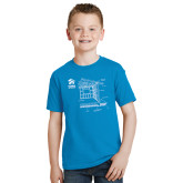 Youth Sapphire T Shirt-Habitat Room Frame