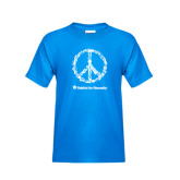 Youth Sapphire T Shirt-Peace Tools