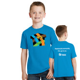 Youth Sapphire T Shirt-Beloved Community