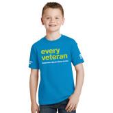 Youth Sapphire T Shirt-Every Veteran