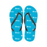 Ladies Full Color Flip Flops-