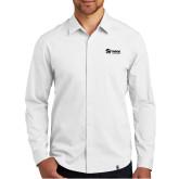 OGIO Commuter White Woven Shirt-