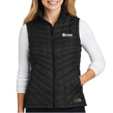 The North Face Ladies Thermoball Black Trekker Vest-