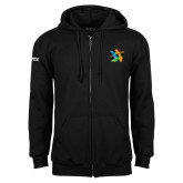 Black Fleece Full Zip Hoodie-Beloved Community