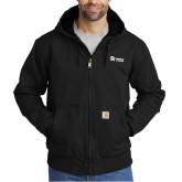 Carhartt Washed Duck Black Active Jacket-