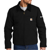 Carhartt Duck Black Detroit Jacket-
