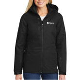 Ladies Black Vortex Waterproof 3 in 1 Jacket-