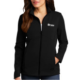 Ladies OGIO Exaction Black Softshell Jacket-
