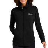 Ladies OGIO Luuma Black Full Zip Fleece-